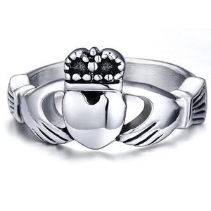Jewelry - ARRIVED! Sterling Silver Claddagh Ring